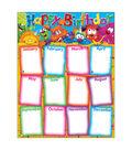 Happy Birthday Furry Friends Learning Chart 17\u0022x22\u0022 6pk