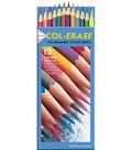 Prismacolor Col-Erase Erasable Colored Pencils 12 Pack-Assorted