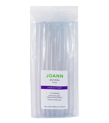 Joann Glue Sticks 24pc Full Multi Temp 10""