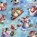 Holiday Cotton Fabric -Snow Celebration