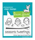 Lawn Fawn Clear Stamps 3\u0022X2\u0022-Winter Sparrows