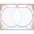 Smart Poly Chart 17\u0022x22\u0022 Confetti Venn Diagram 10pk