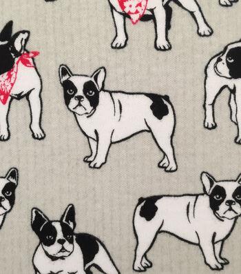 Doodles Juvenile Apparel Fabric -Bandana Boston Interlock