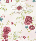 Keepsake Calico Cotton Fabric -Dainty Pink Large Floral
