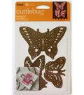 Cricut Cuttlebug Anna Griffin Butterfly Trio Cut & Emboss Die Set