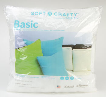 """Soft N Crafty Basic 20"""" x 20"""" Pillow"""