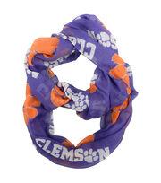 Clemson University Tigers Infinity Scarf, , hi-res