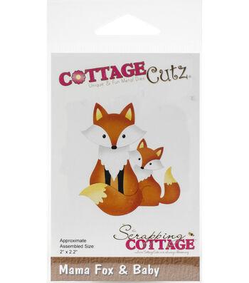 """CottageCutz Die-Mama Fox & Baby 2""""X2.2"""""""