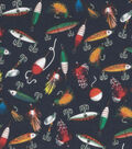 Novelty Cotton Fabric Fishing Lures