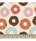 Snuggle Flannel Fabric -Donut Shop