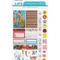 Paper House Life Organized Planner Stickers 4/Sht-Free Spirit