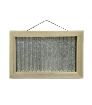 "Camp Ann Crafts 10""x15"" Hanging Galvanized Board"