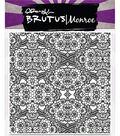 Brutus Monroe Clear Stamp 5.75\u0027\u0027x5.75\u0027\u0027-Floral Lace Background