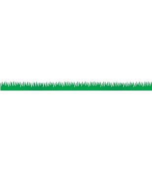"""Classroom Diecut Borders 3""""X36"""" 12/Pkg-Green Grass"""