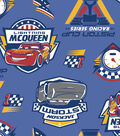 Disney Cars 3 Fleece Fabric -Piston Cup Racing Series