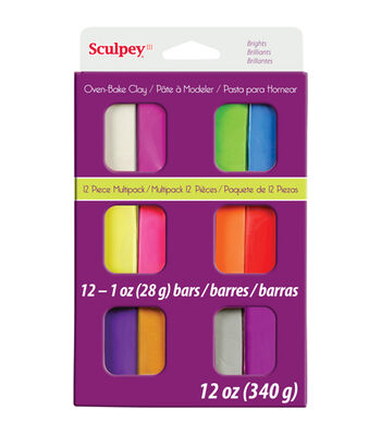 Sculpey III Multi Packs-Brights