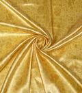 Disney Beauty & The Beast Satin Fabric -Yellow