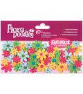 Petaloo Jeweled Paper Flowers-80PK