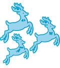 Tonic Studios Christmas Rococo Plus 6 pk Dies-Reindeer Family Trio