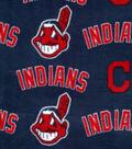 Cleveland Indians Fleece Fabric 58\u0022-Logo