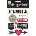 Me & My Big Ideas Soft Spoken Family - So Much Love Stickers