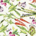 Novelty Cotton Fabric 43\u0027\u0027-Spring Vegetables