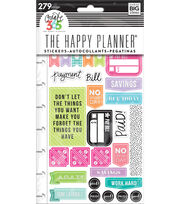 The Happy Planner Planner Stickers-Get Paid, , hi-res