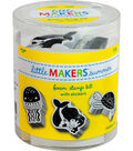 Little Makers Summer Foam Stamp Kit-Sealife