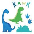 Kaisercraft Beyond the Page Dinosaur Wall Art Pack