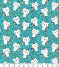 Novelty Cotton Fabric-Cat Unicorn