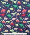 Doodles Juvenile Apparel Fabric 57\u0022-  Dino Gal Interlock