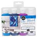 American Crafts Color Pour Pre-Mixed Paint Kit-Galaxy Surge