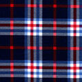Snuggle Flannel Fabric-Blue Traditional Plaid