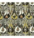 Robert Allen @ Home Lightweight Decor Fabric 55\u0022-Ikat Bands / Greystone