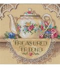 Dimensions Gold Counted Cross Stitch Kit Petite Treasure Friend Teapot