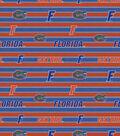 College Teams Florida Gators Cotton Fabric -Polo Stripe
