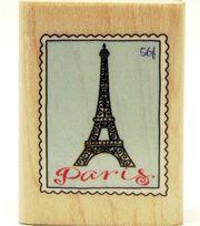 Inkadinkado Rubber Stamp-Paris Postage, , hi-res