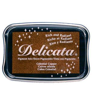 Tsukineko Delicata Pigment Ink Pad-Celestial Copper