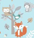 Snuggle Flannel Fabric -Sweet Woodlanders