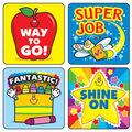 Carson Dellosa Winning Words Motivational Stickers, 120 Per Pack