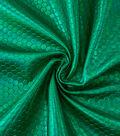 Cosplay By Yaya Han Metallic Scuba Fabric 57\u0022-Green Hex