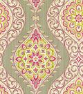 Waverly Lightweight Decor Fabric 54\u0022-Moonlit Medallion/Passion