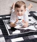 Storytime Quilt & Stuffie Kit-Black and White