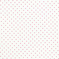 Quilter\u0027s Showcase Cotton Fabric -Red Swiss Dots on White
