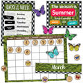 Woodland Whimsy Calendar Bulletin Board Set