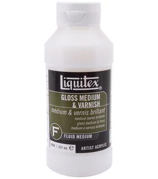 Liquitex Gloss Medium & Varnish-8oz