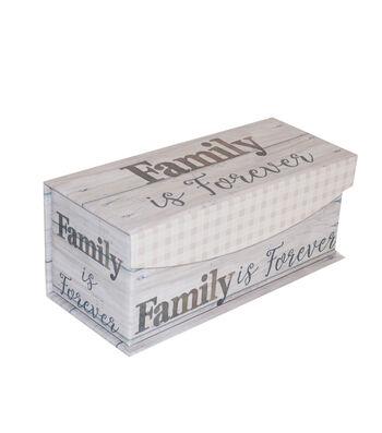 Organizing Essentials X-Small Fliptop Storage Box-Farmhouse Sentiments
