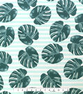 Outdoor Decor Fabric 55\u0022-Leaf Print