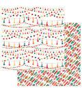 Photoplay Paper Paprika 12\u0027\u0027x12\u0027\u0027 Double-Sided Cardstock-Tassels