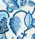 Waverly Upholstery Decor Fabric-Fantasy Fleur Ocean
